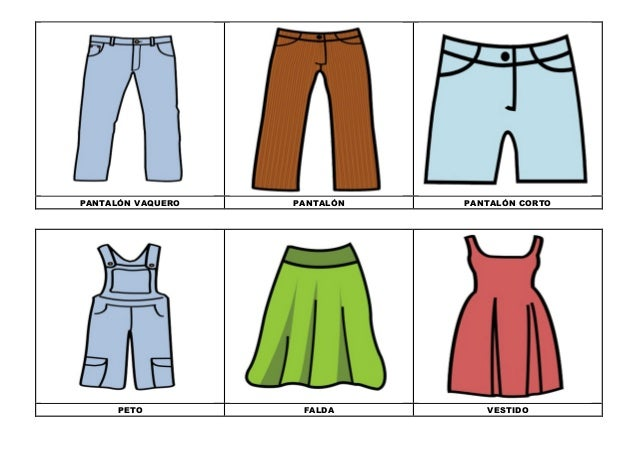 La ropa 3 c color