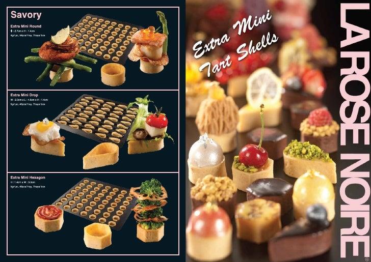 La rose  mini tart shells  fall 2011
