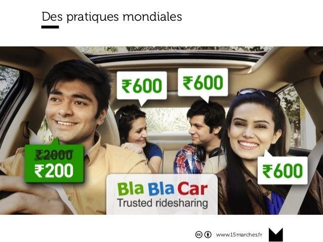 www.15marches.fr Des pratiques mondiales