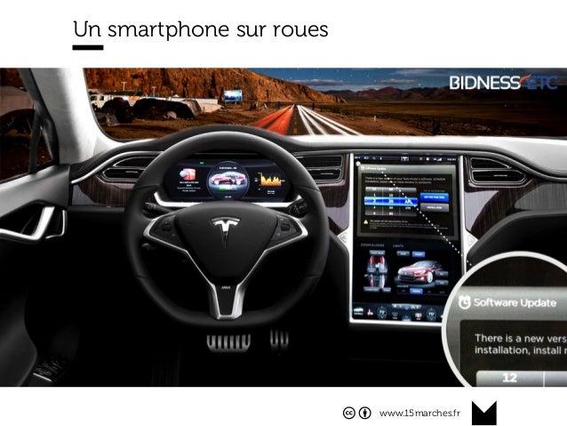 www.15marches.fr @15marches #LDTRA stephane@15marches.fr Un smartphone sur roues