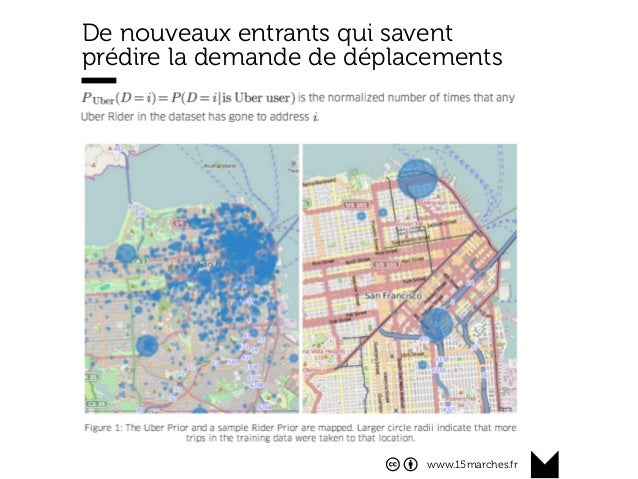 www.15marches.fr De nouveaux entrants qui savent prédire la demande de déplacements