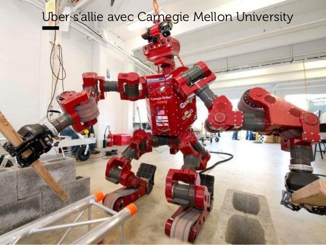 www.15marches.fr Uber s'allie avec Carnegie Mellon University