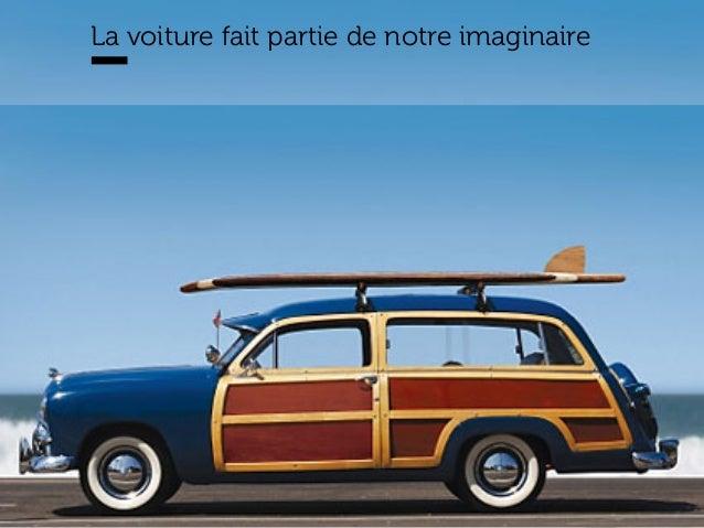 www.15marches.fr @15marches #LDTRA stephane@15marches.fr La voiture fait partie de notre imaginaire