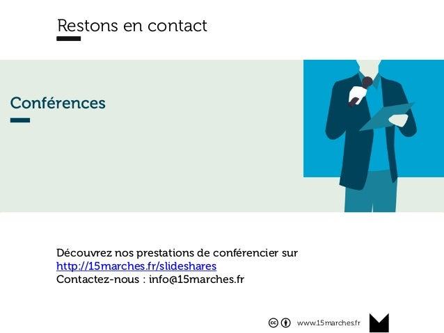 www.15marches.fr Restons en contact Découvrez nos prestations de conférencier sur http://15marches.fr/slideshares Contacte...