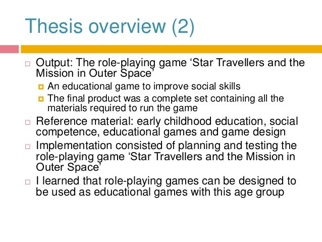 childhood thesis Early childhood education research paper nie m ed in curriculum amp instruction with a concentration in early obamas early childhood education plan early childhood education.