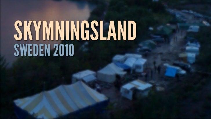 SKYMNINGSLANDSWEDEN 2010
