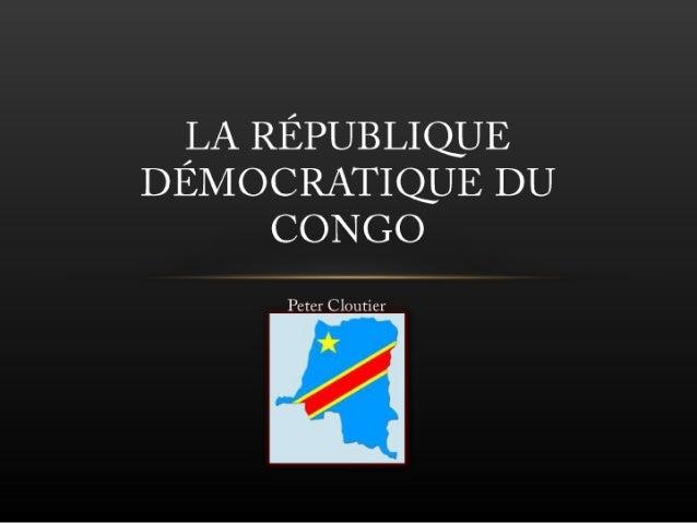 La république démocratique du