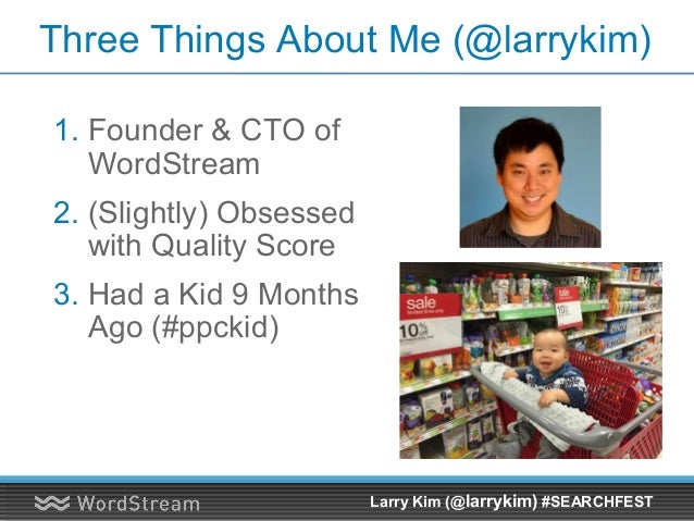 Larry Kim's Presentation for SearchFest 2015, Portland, Oregon Slide 2