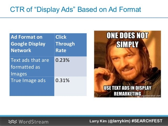 Push Display Ads To Your Offers Larry Kim (@larrykim) #SEARCHFEST
