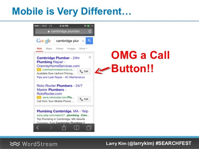Contact & Qualification Rate Evaporates Fast! Larry Kim (@larrykim) #SEARCHFEST