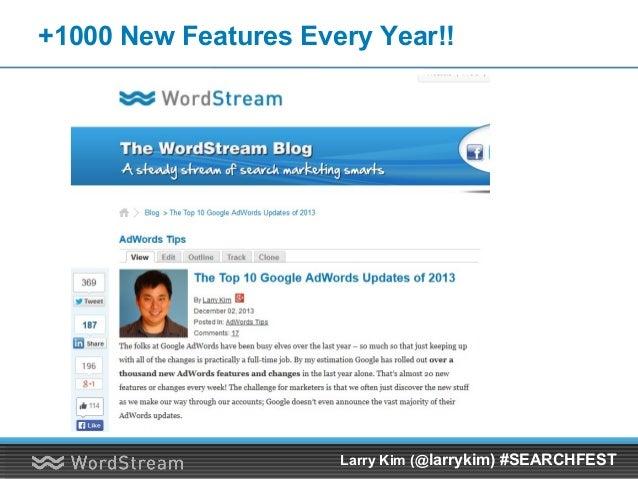 My Google+ Story… Larry Kim (@larrykim) #SEARCHFEST