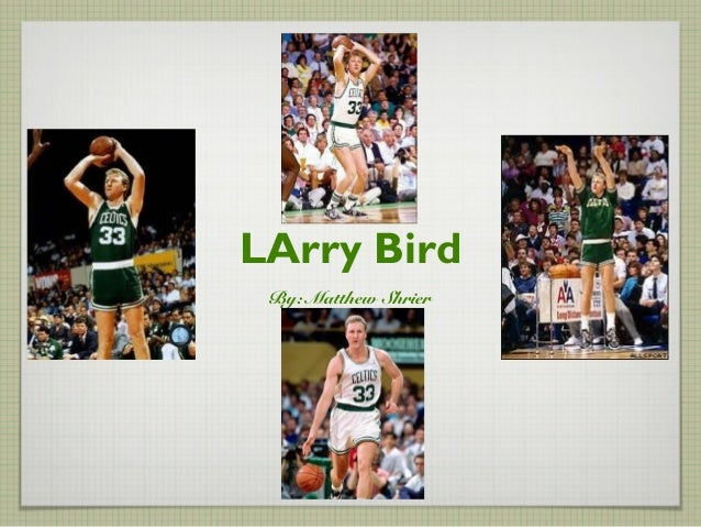LArry BirdBy: Matthew Shrier