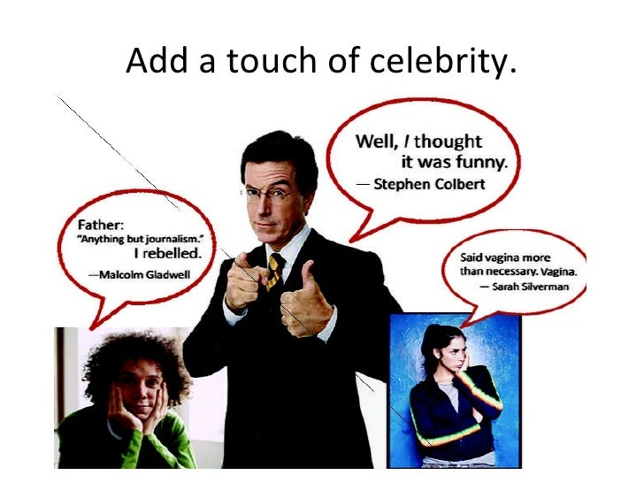 Add A Touch Of Celebrity