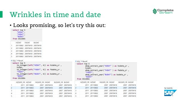 Wrinkles in time and date • Looks promising, so let's try this out: