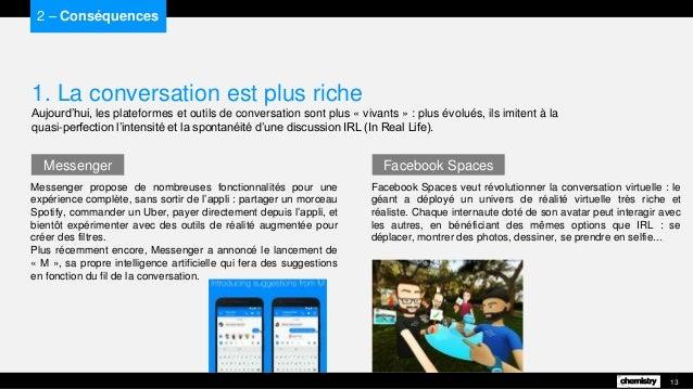 Facebook Spaces veut révolutionner la conversation virtuelle : le géant a déployé un univers de réalité virtuelle très ric...