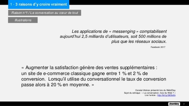 Constat IAdvize présenté lors du Web2Day Sujet du colloque : « La conversation, futur du Web ? » Lire l'article : http://b...