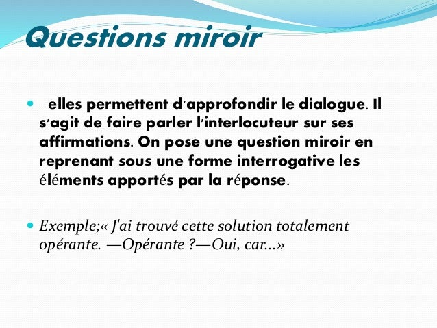 l 39 art de questionner