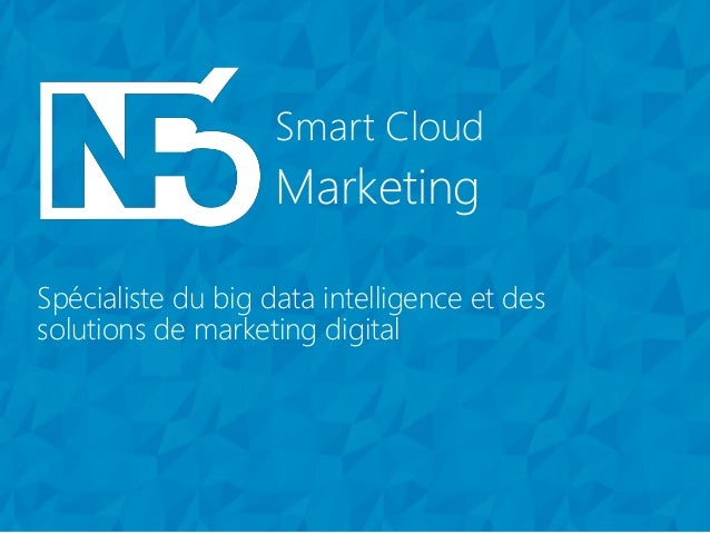 Marketing Smart Cloud Spécialiste du big data intelligence et des solutions de marketing digital