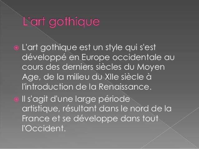 L 39 art gothique for Architecture gothique definition