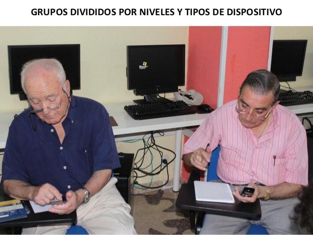 GRUPOS DIVIDIDOS POR NIVELES Y TIPOS DE DISPOSITIVO