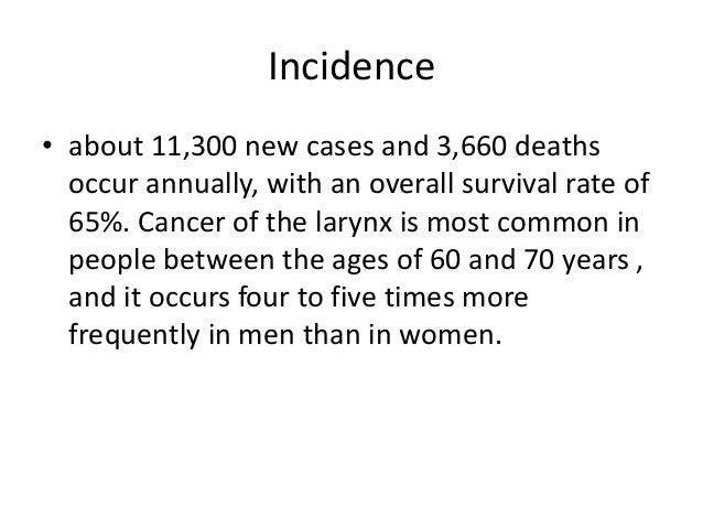 Larynx cancer Slide 3