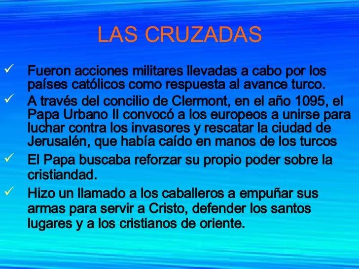 Las Cruzadas Y La Crisis Del Feudalismo Slide 3