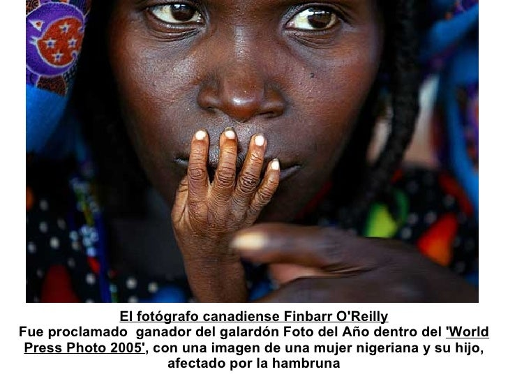 El fotógrafo canadiense Finbarr O'Reilly Fue proclamado  ganador del galardón Foto del Año dentro del  'World Press Photo ...