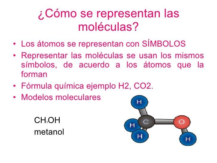 Las mol culas for Que significa molecula