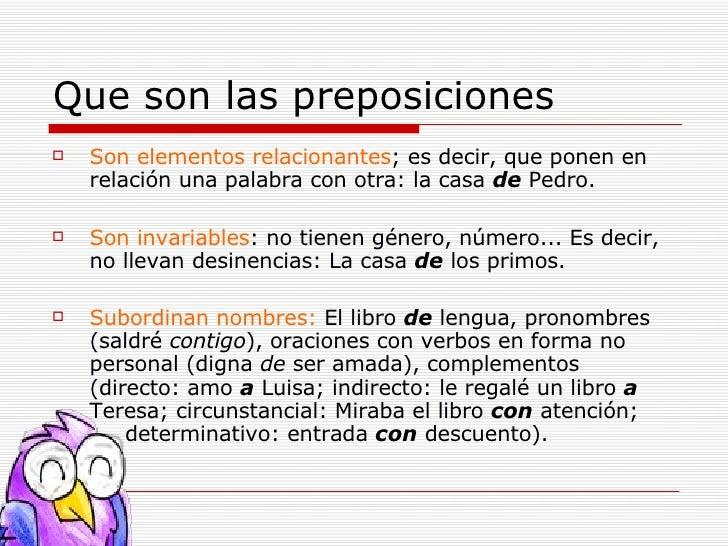 Las preposiciones for Que quiere decir clausula suelo