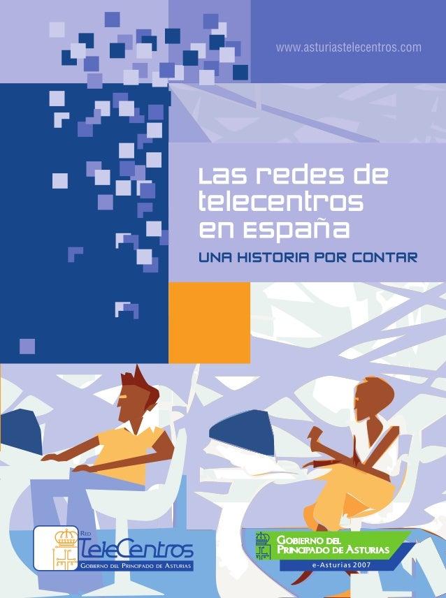 Las redes de Telecentros en Espana Slide 3