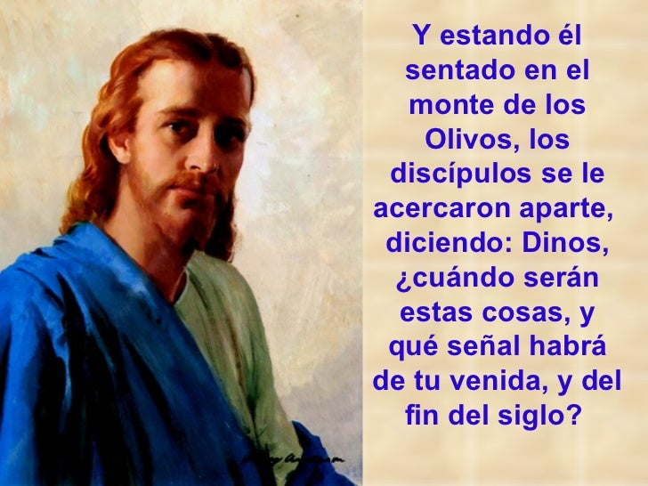 LAS SEÑALES DE LA SEGUNDA VENIDA DE CRISTO Slide 2