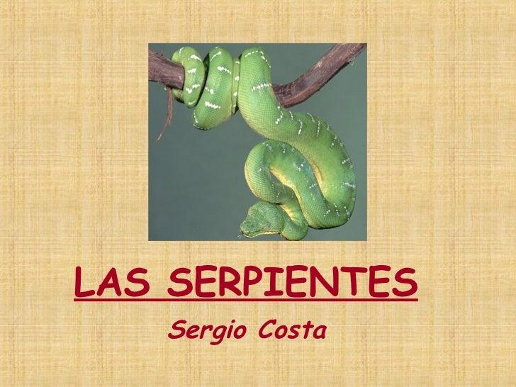 LAS SERPIENTES Sergio Costa