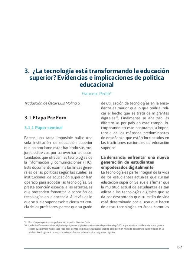 Las TIC en la educación digital del Tercer Milenio