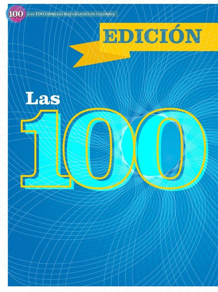 100   las 100 empresas más grandes de colombia                                        EDICIÓN100      Las