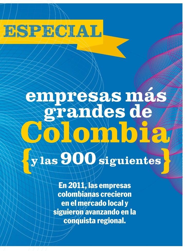 Las 100 empresas mas grandes de colombia for Empresas de jardineria bogota