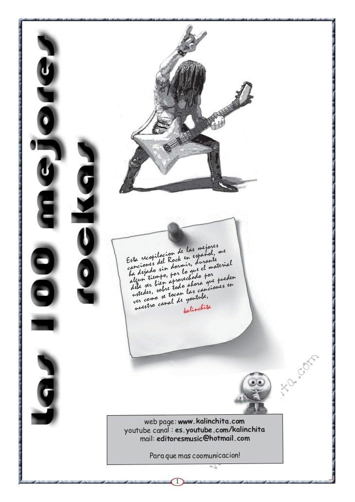 la revista de las 100 mejores rockas