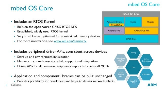 LAS16-112: mbed OS Technical Overview