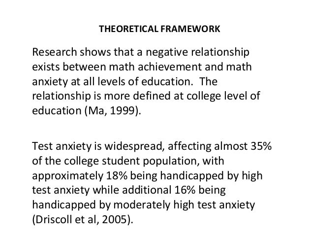 Theoretical framework for the effect of stress among college students in academic performance