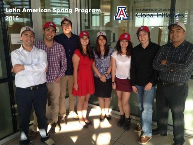 Latin American Spring Program 2016