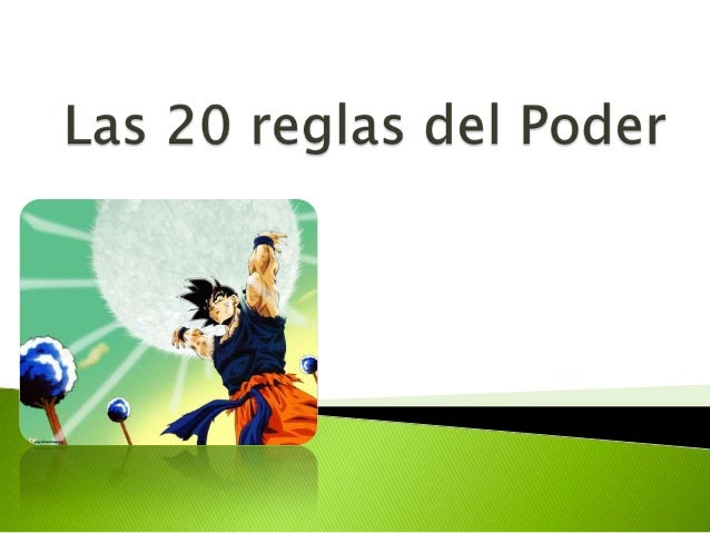 20 REGLAS DEL PODER PDF