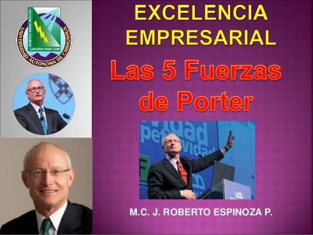 M.C. J. ROBERTO ESPINOZA P.