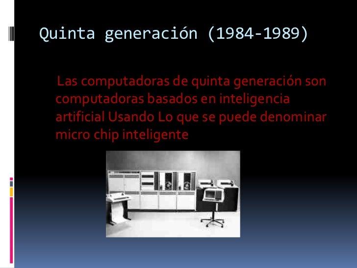 3 generacion de computadoras yahoo dating 5