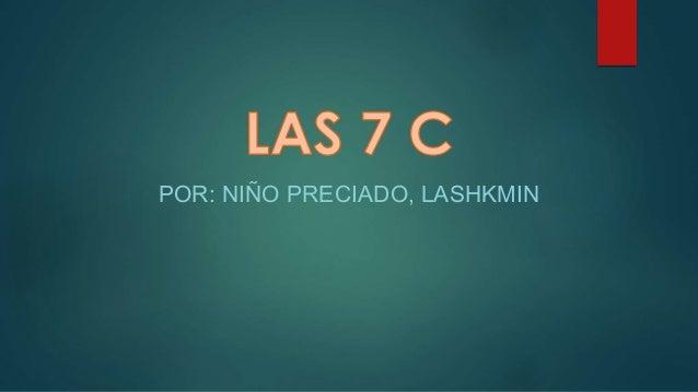 POR: NIÑO PRECIADO, LASHKMIN