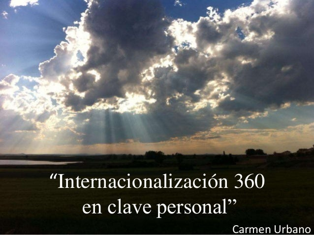 """Las 7 claves del """"coaching"""" internacional Carmen Urbanod """"Internacionalización 360 en clave personal"""" Carmen Urbano"""