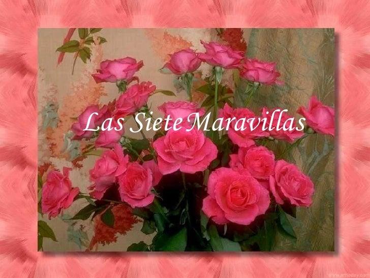 Las SieteMaravillas