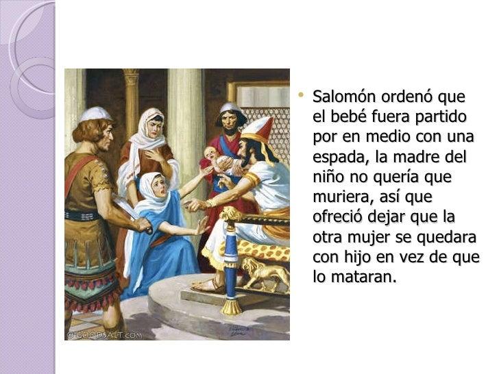 La sabiduría de salomón