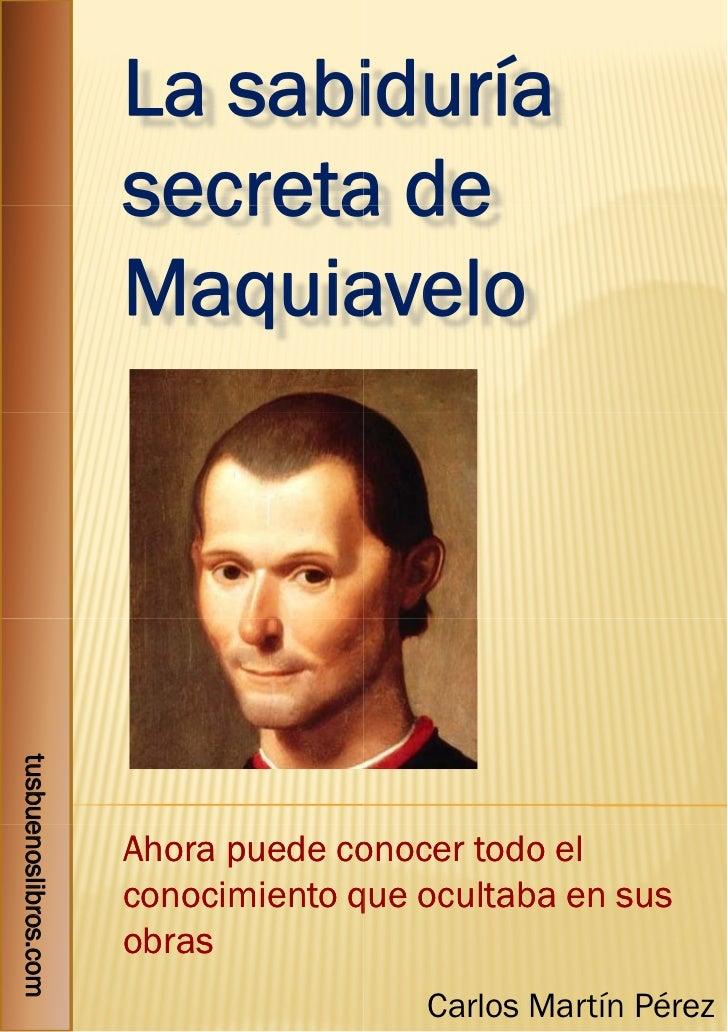 La sabi                            iduría                      secreta de                            a                    ...