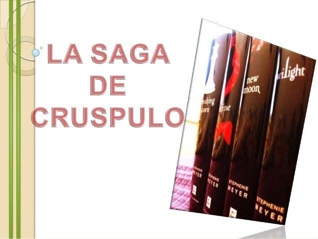 Twilight es la primera novela de la serie. Narra la historiade Isabella Swan (Bella) desde el momento que decidiómudarse d...