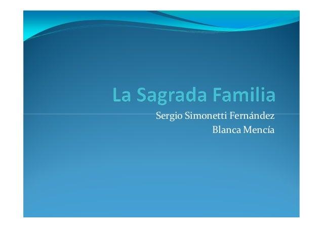 Sergio Simonetti Fernández            Blanca Mencía