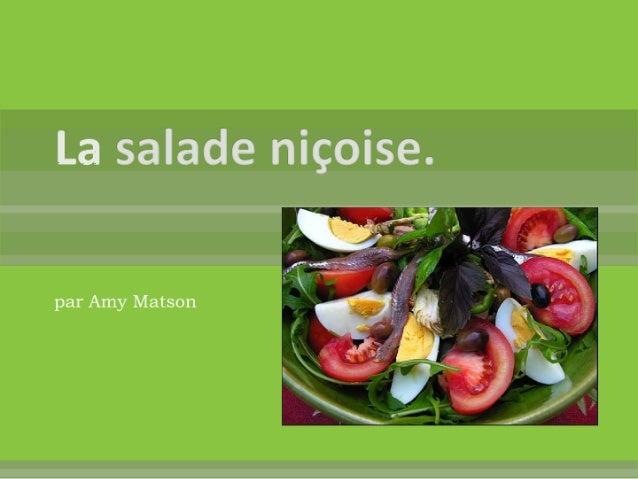 La salade niçoise   la provence